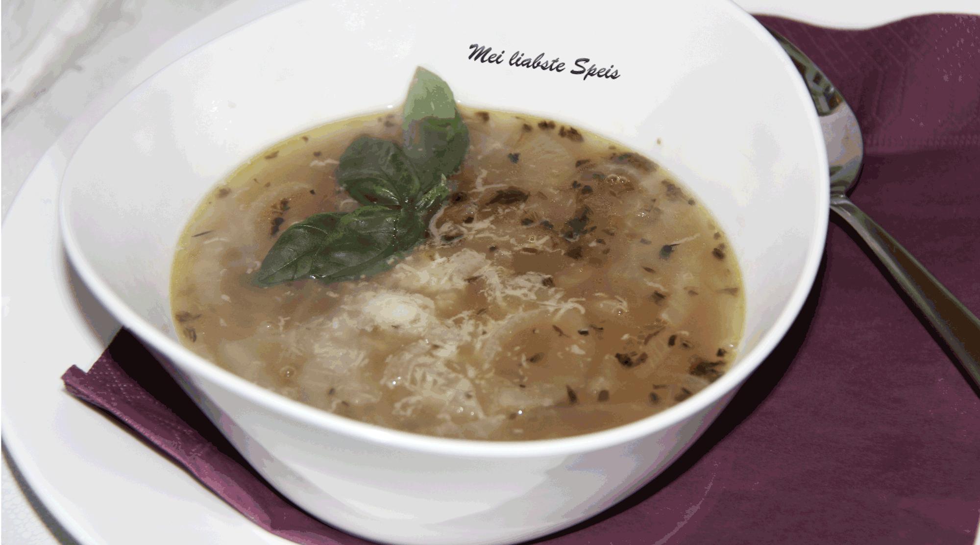 Zwiebelsuppe