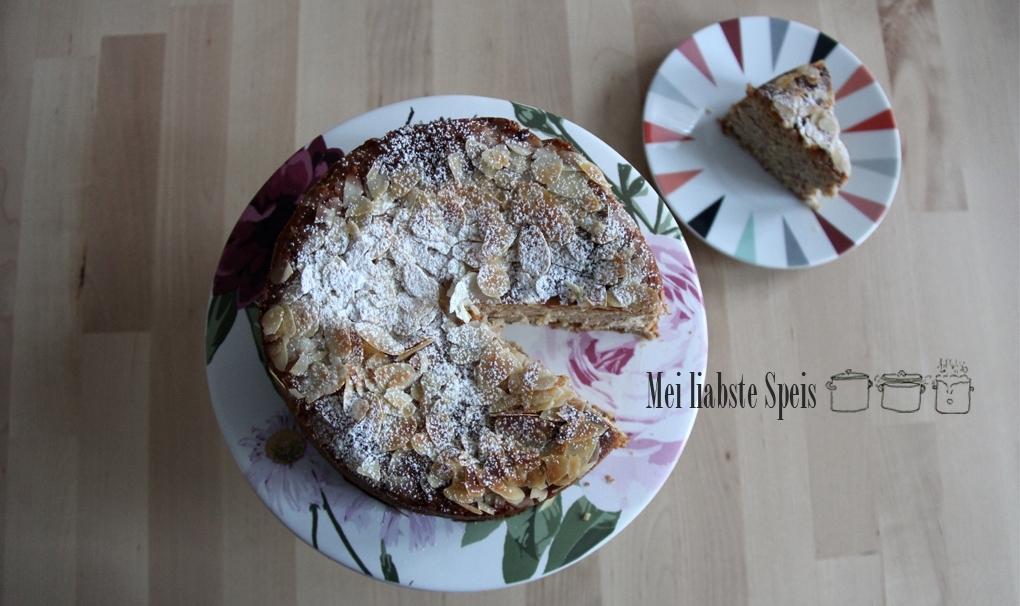 Mandel-Ricotta-Zitronenkuchen