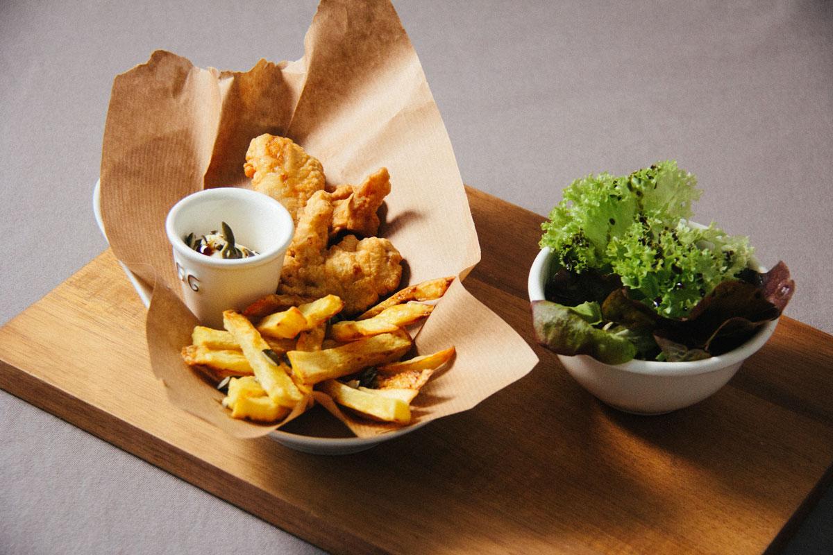 Fish and Chips vom Karpfen