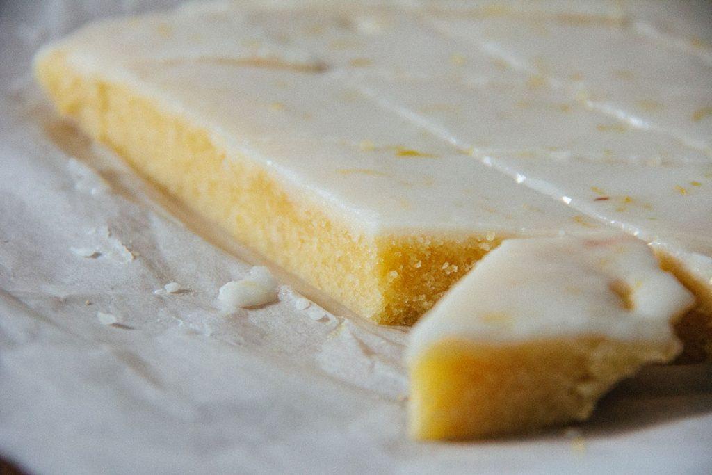 Zitronenschnitten