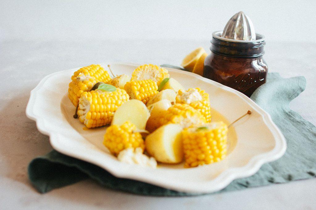 Zitronen-Kapern Butter
