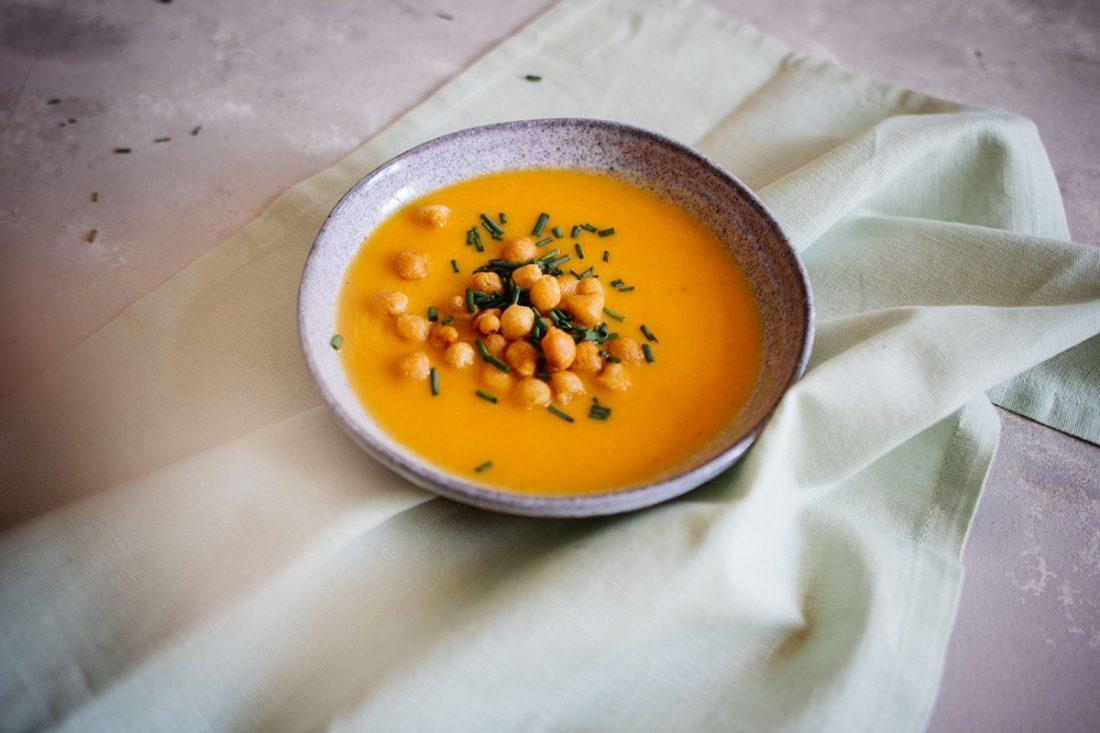 Karotten-Orangen Suppe