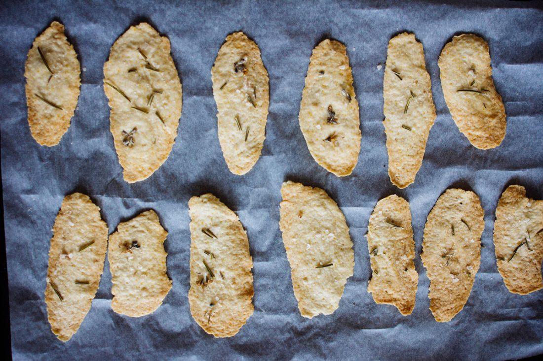 Olivenöl-Rosmarin Cracker